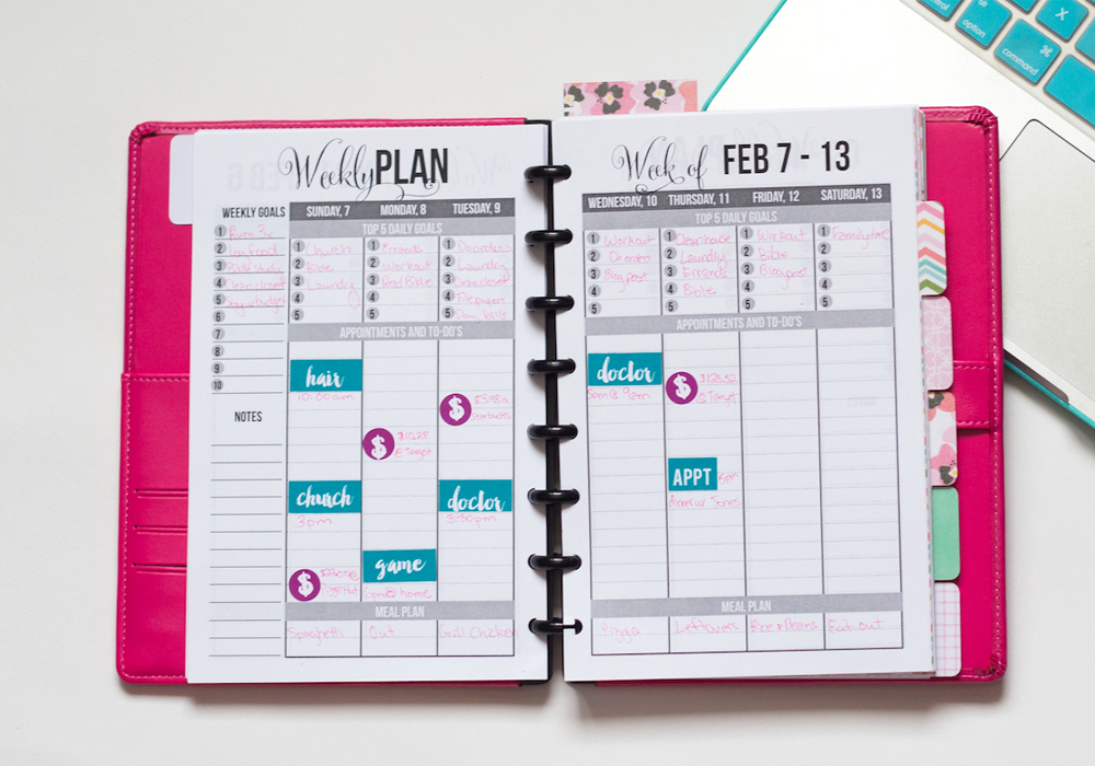 CustomizeYourPlanner