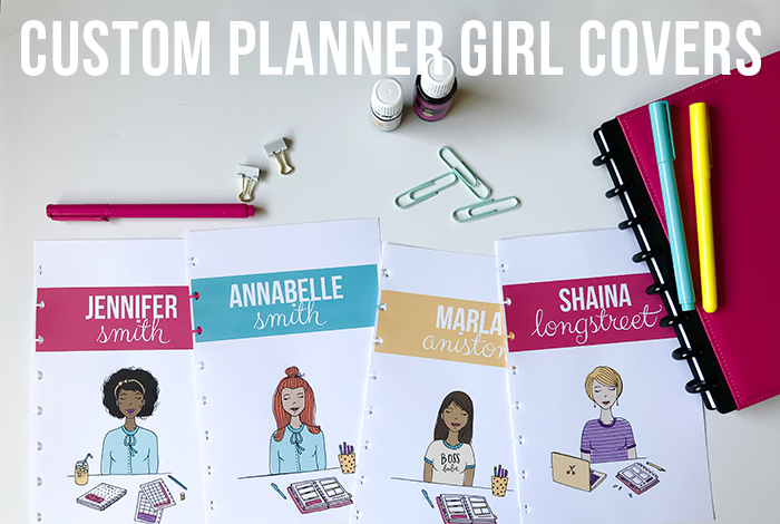 Custom Planner Girl Covers are back!!