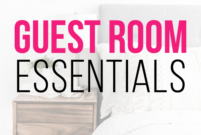 Guest Bedroom: Ideas for organizing guest room essentials
