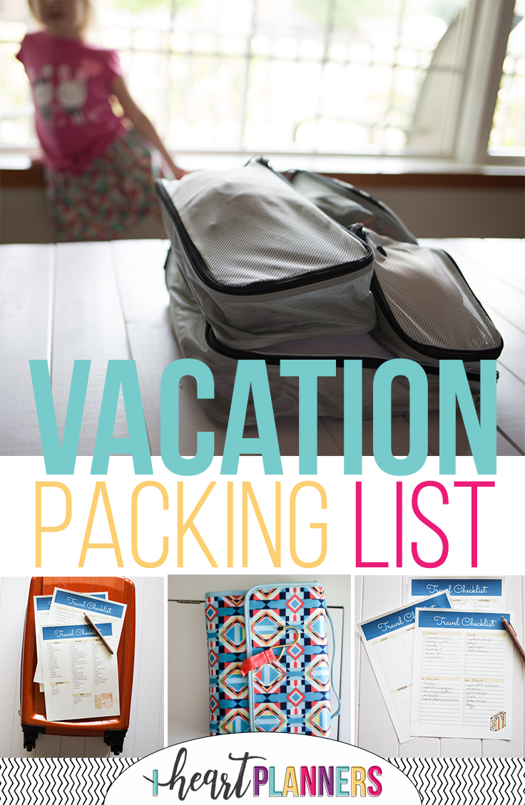 Get your ultimate vacation packing list - we're giving it away as a free printable! Plus get our best travel tips and packing hacks to help you get ready for your next road trip.