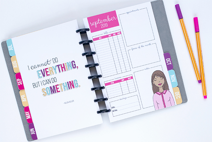 The 2019 Sweet Life Planner is NOW AVAILABLE!