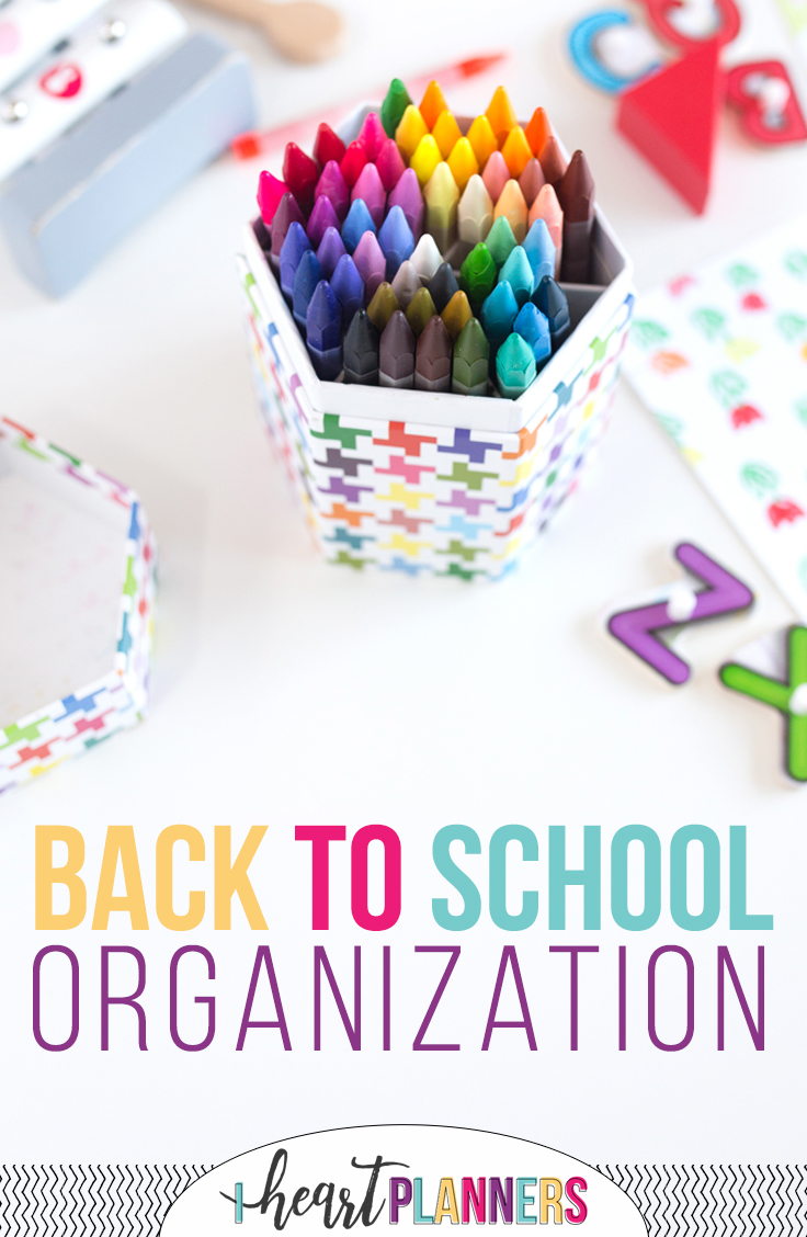 Back to school! Make this the most organized school year yet!