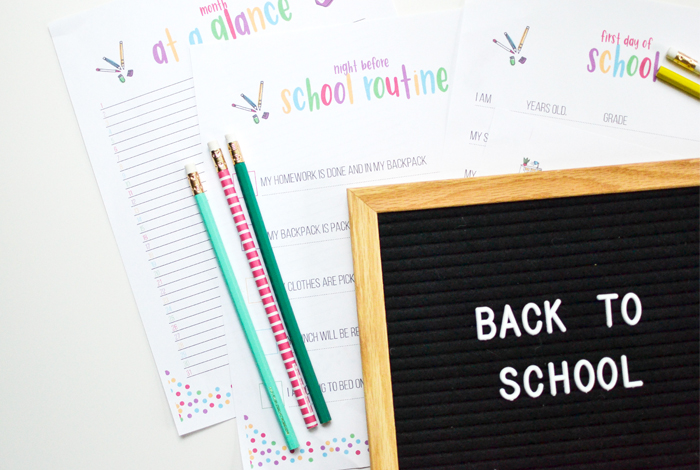 Tips for Back to School Organization