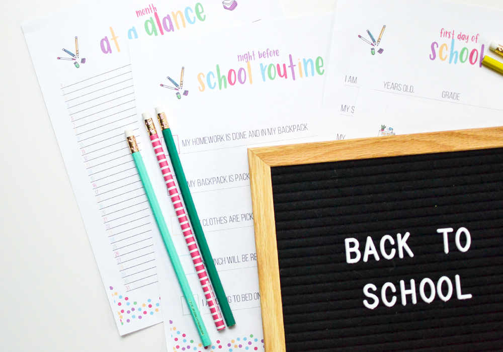 Kids going back to school? The first day of school will be a success with these tips!