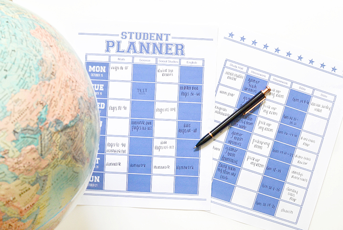 Student Planner: Learn how to customize your school planner!