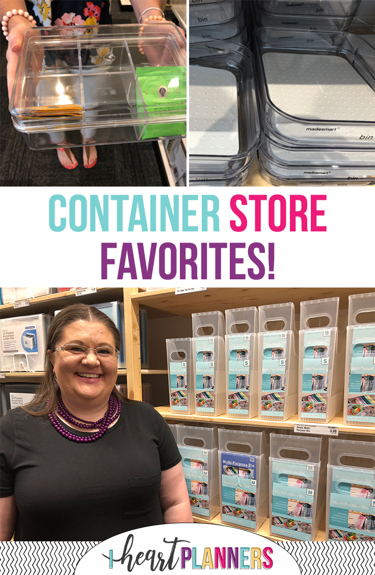 Find the best organizing products from The Container Store!