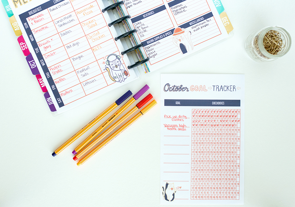 1 way to accomplish goals is to write them down. Use this free goal tracker to reach your goals.
