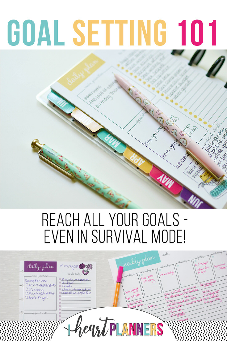 Life goals, works goals, personal goals, or home goals - learn how to accomplish all your goals with a few simple steps!