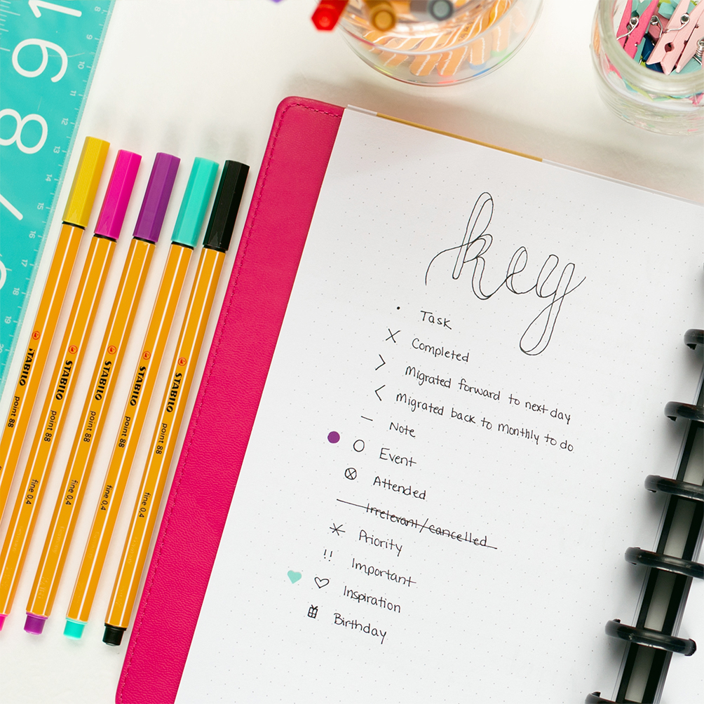 photo relating to Bullet Journal Key Printable called Bullet Magazine Templates - I Middle Planners