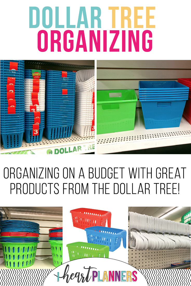 Dollar Tree has cheap organizing solutions. I'll show you the best dollar tree baskets, cheap storage boxes, cheap boxes, and all the ways you can use Dollar Tree for storage.