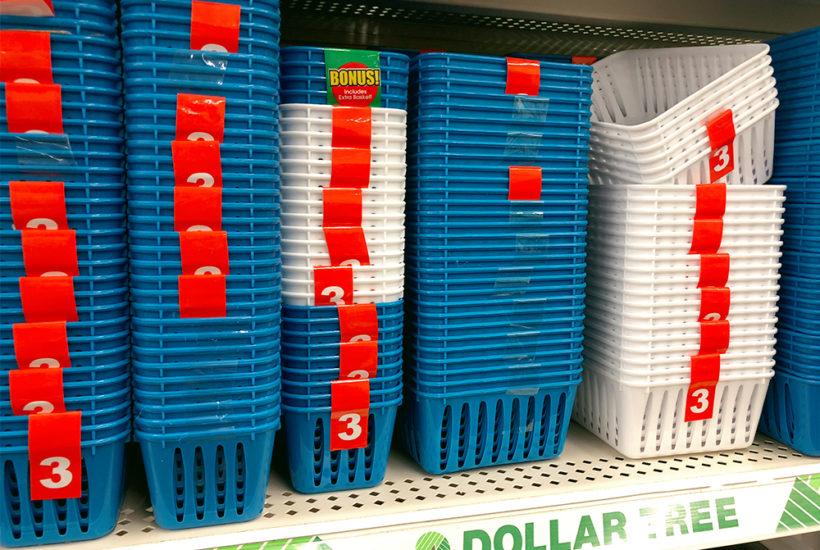 Favorite Dollar Tree Organizing Products