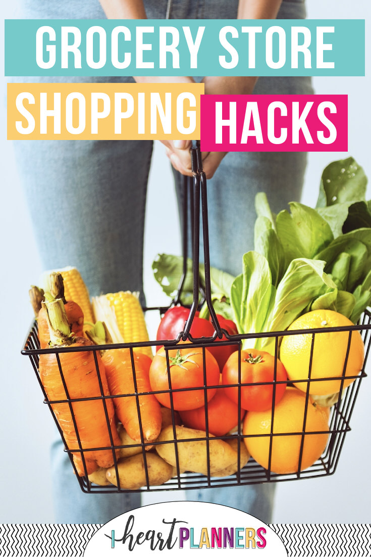 Here are 5 of our favorite hacks for saving money at the grocery store. Don't go shopping without them!