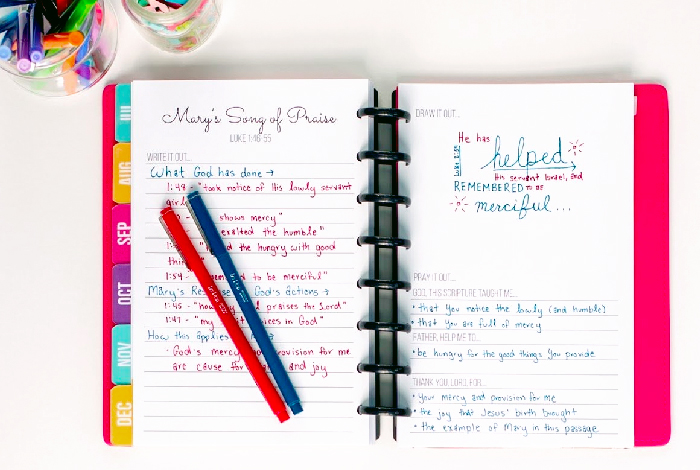 Introducing the Bible Journaling Pack
