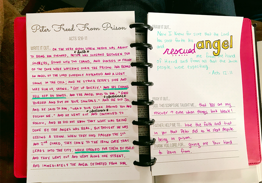 Ever wanted to get into Bible Journaling? Now you can cultivate the habit of Bible Journaling for free!! Download your own Bible Journaling pack today!
