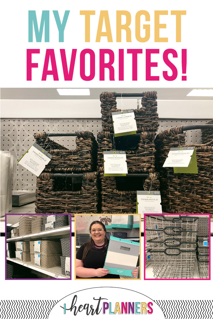 Target has great organizing products. From Target cube storage to Target storage bins, Target cube organizers, and more...see my fav Target storage solutions