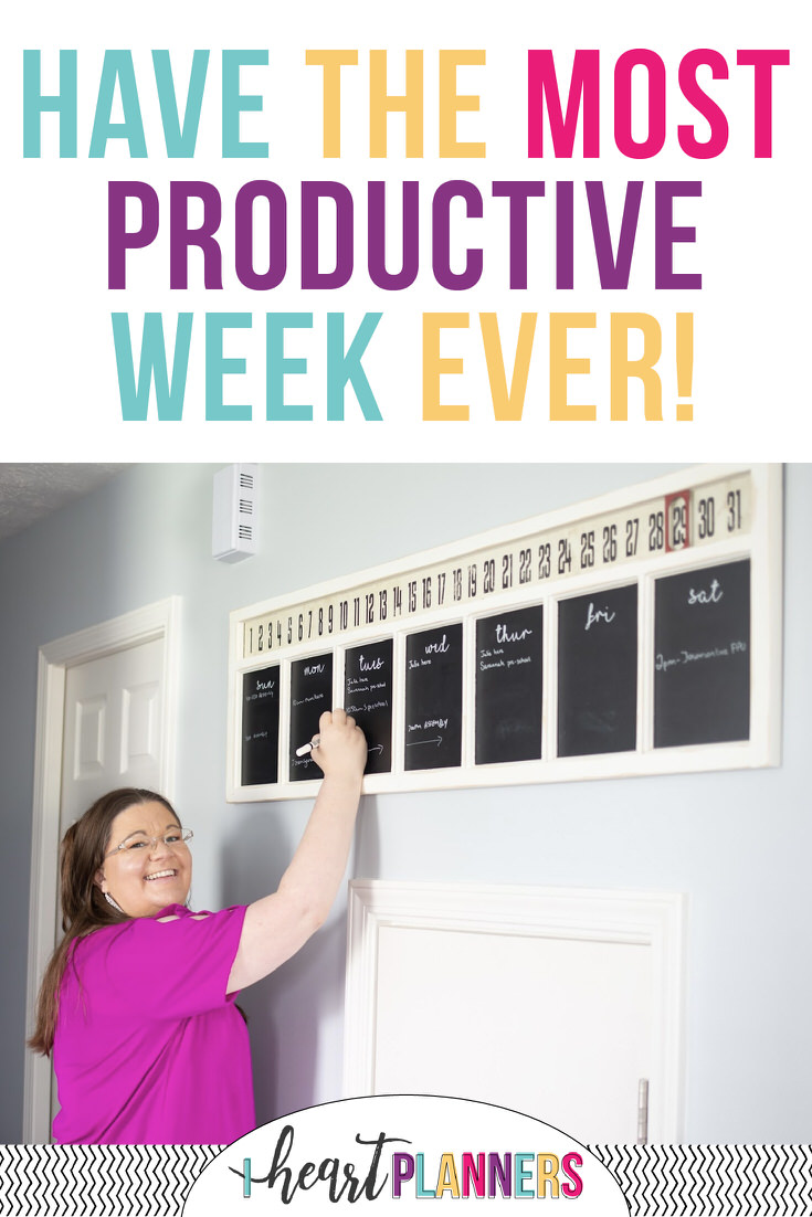 Ready to have an organized life? As you've probably heard, the secret is in the day to day and week to week activities. Sunday's are a great day to get a kickstart to a productive week!