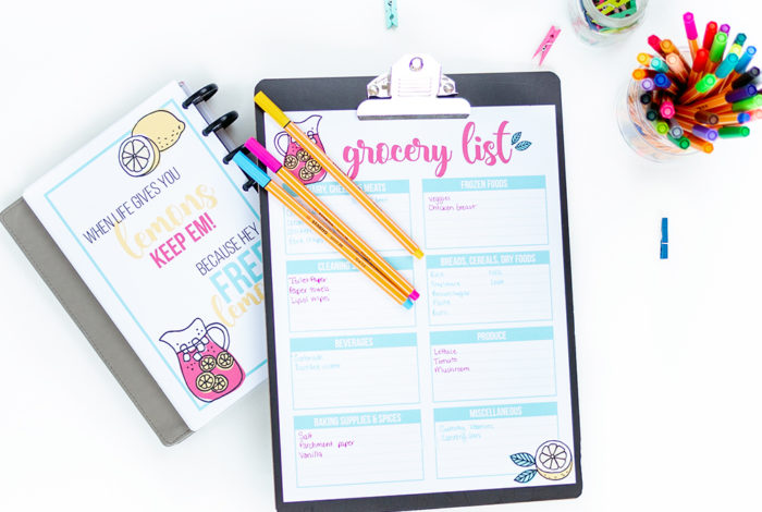 Using a grocery list template can save you precious time and the frustration of wandering the supermarket isles trying to check things off what your scribbled on the back of last week's receipt.