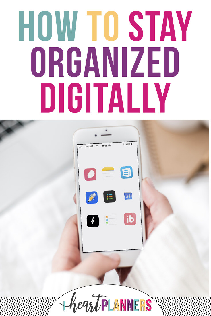 Looking to get your life organized digitally? Check out these ten productivity and planning apps!