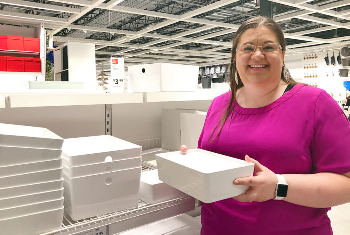 A recent shopping trip led me to some of the best IKEA organizing products out there! Shop with me through the aisles of IKEA.