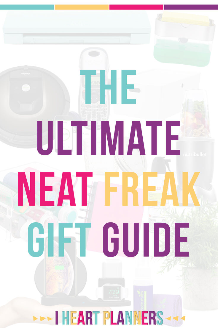 The ultimate neat freak gift guide! If you have some who loves organizing and cleaning, you can give them the perfect gift (or snag something for yourself.)