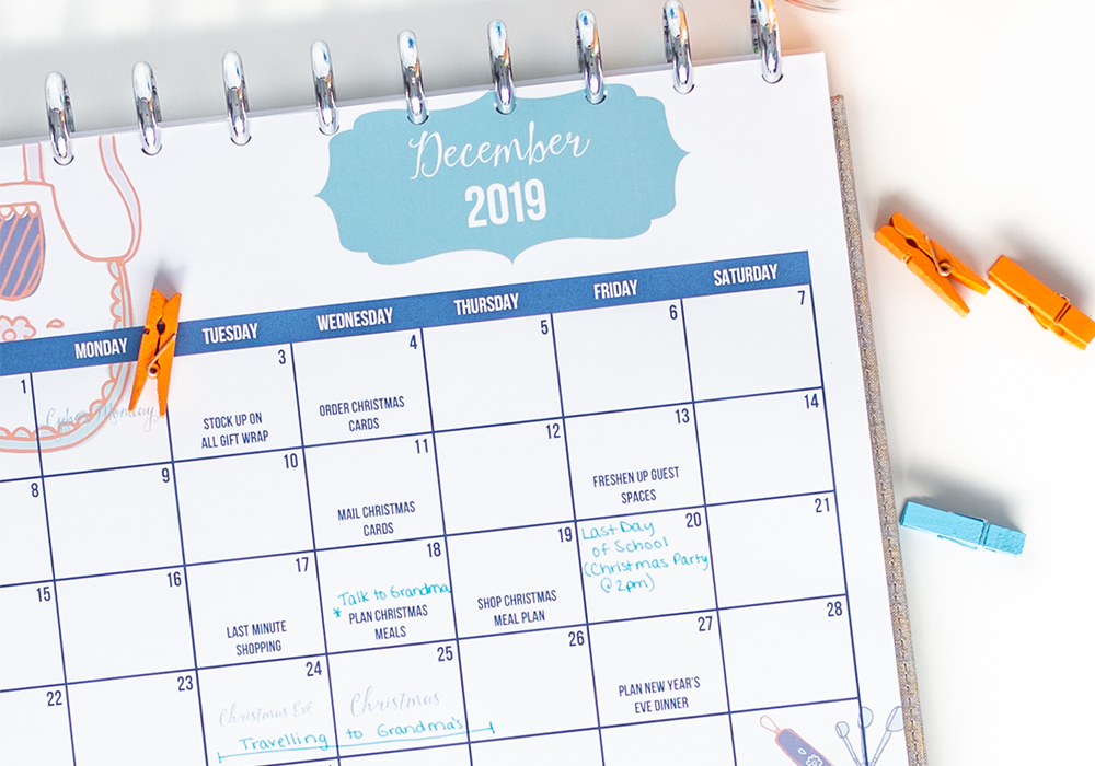 The holiday season can bring along a lot of unwanted stress. I've created a free printable guide to a low stress holiday season that I'll walk you through step by step.