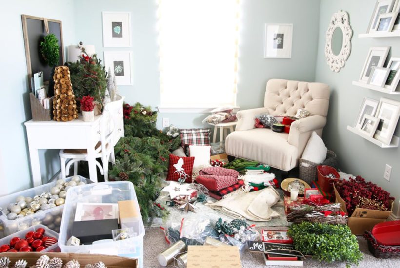 Six Tips for Organizing Holiday Decor