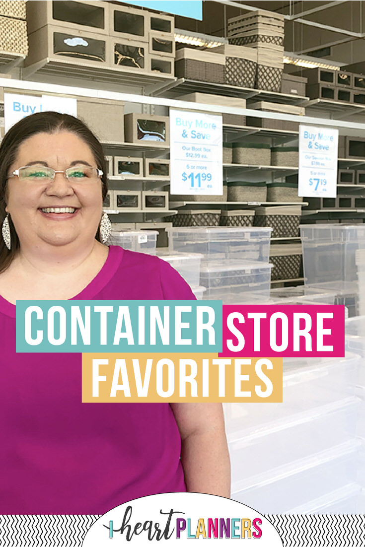 If you want your spaces to look coordinated and always be in tip-top condition - The Container Store has everything to fit your organizing needs! Here are my 8 favorite finds.