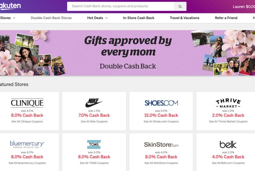 Rakuten Review: How I Earn Money Shopping!
