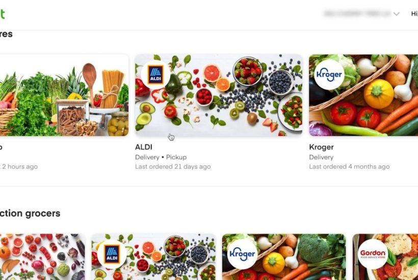 Grocery Shopping a Whole New Way – InstaCart Review