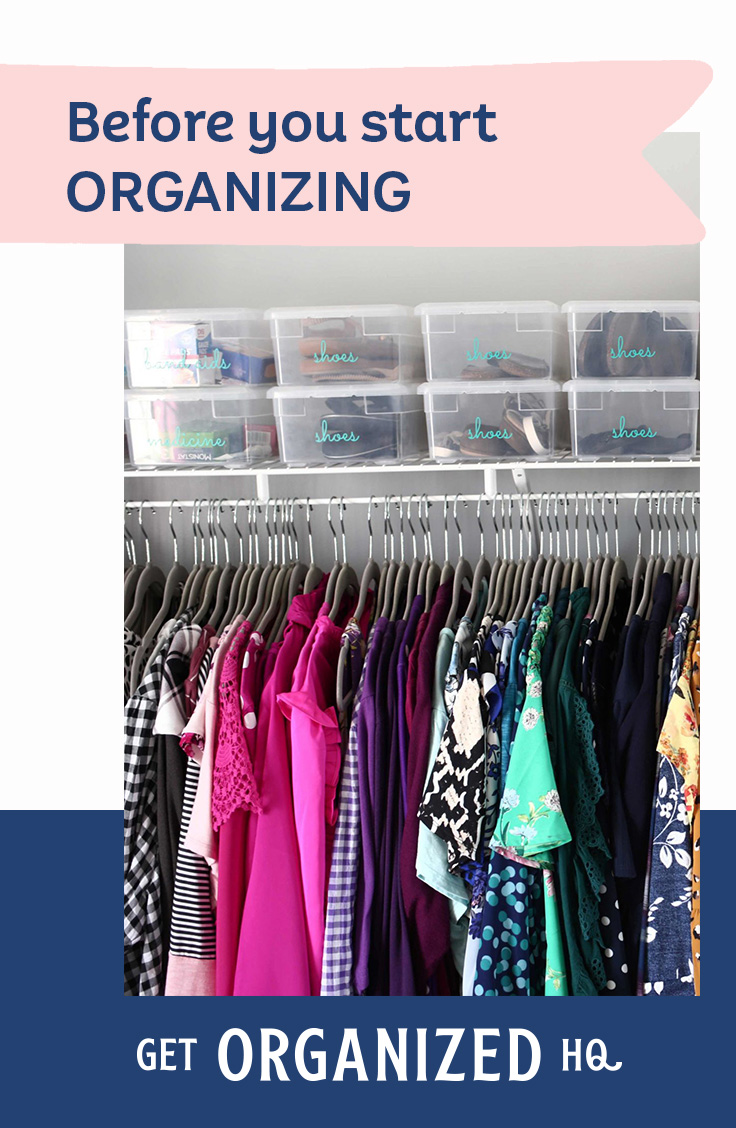 The Question You Must Ask BEFORE You Start Organizing