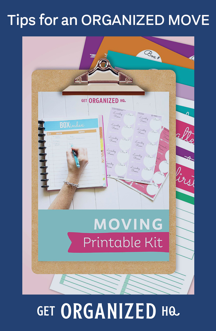 Tips for an Organized Move